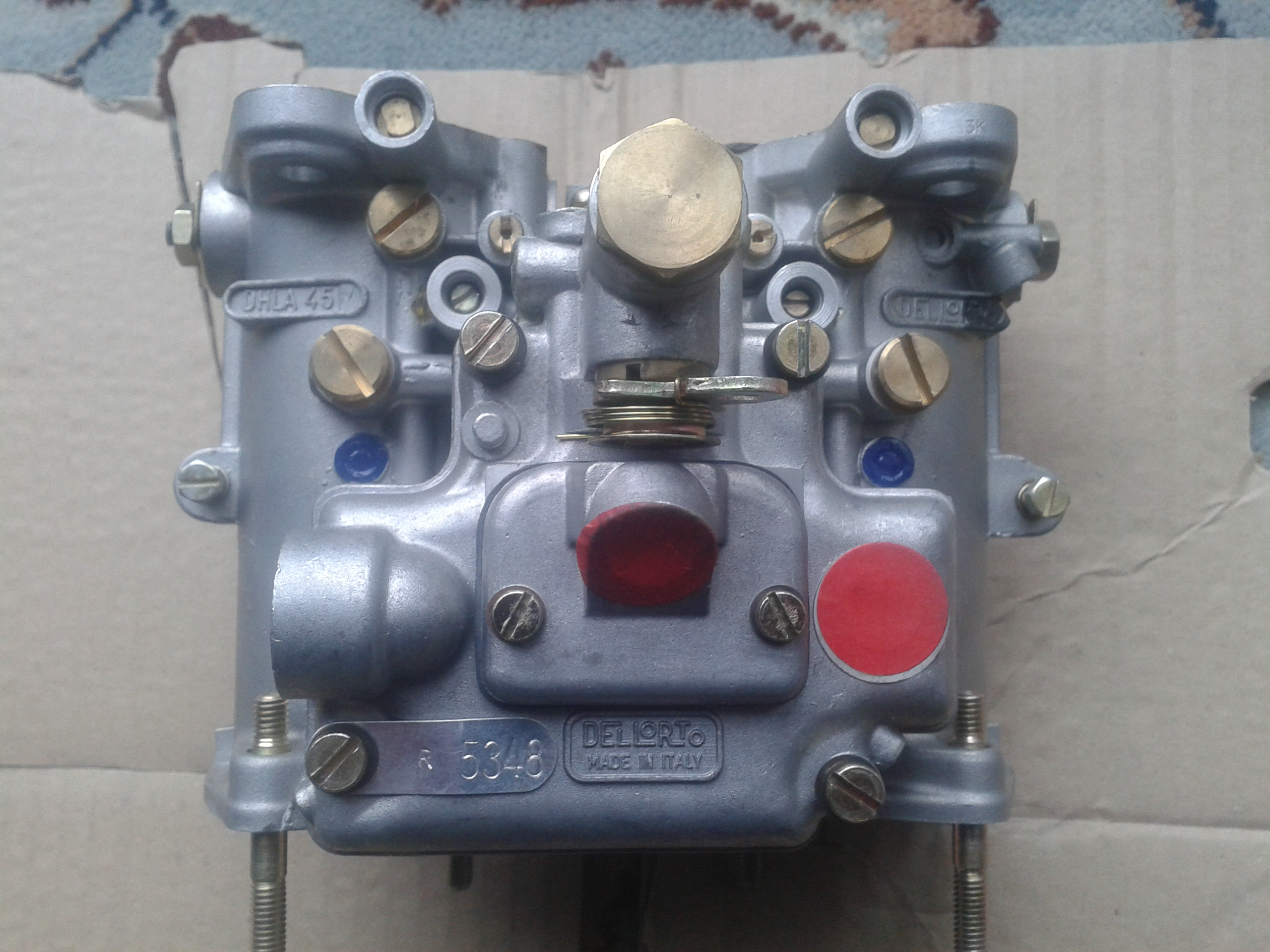 Lotus Dellorto carbs 002