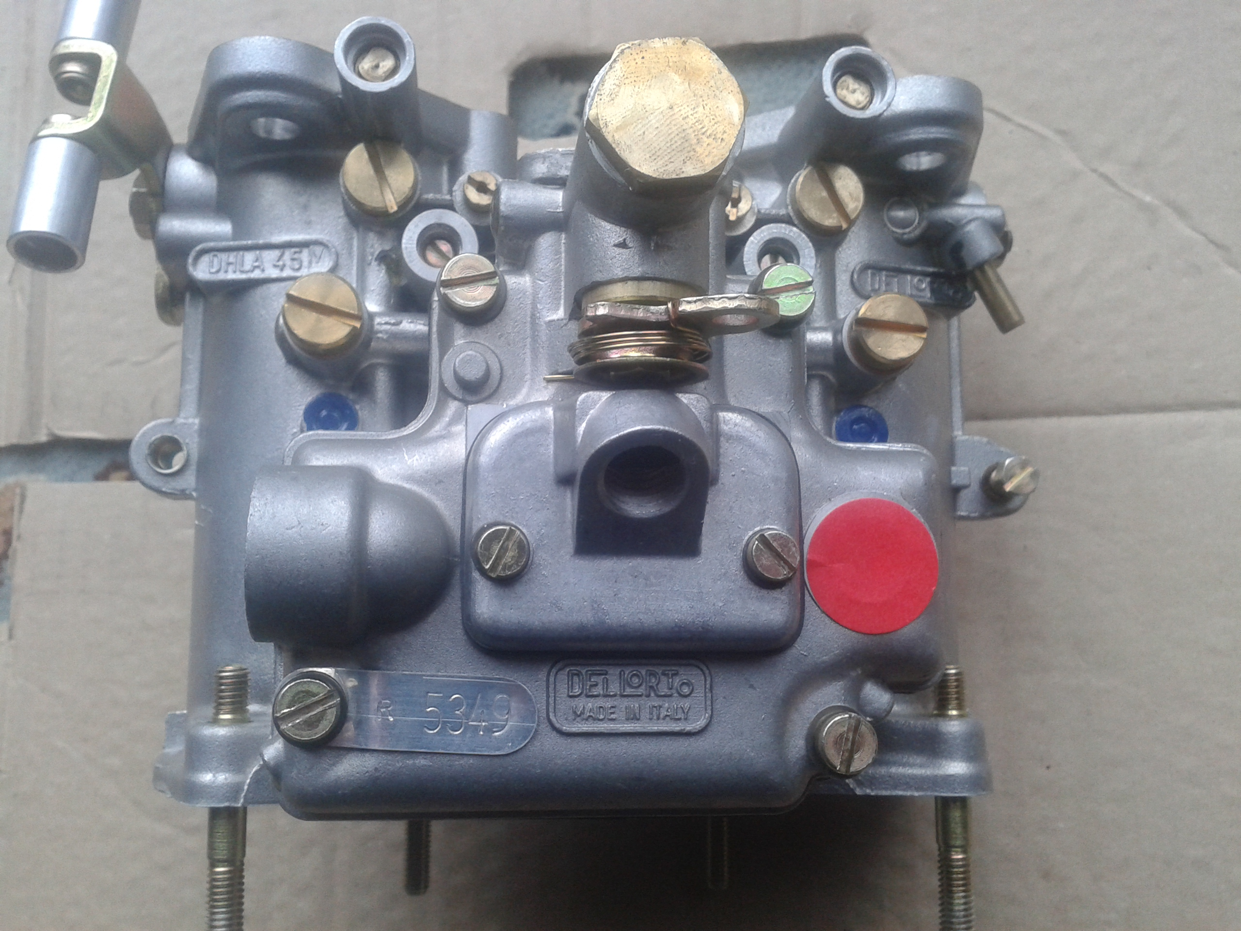 Lotus Dellorto carbs 006